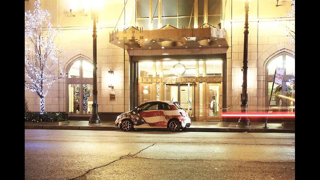 Fiat 500, USA , Reportage,  Teil 5