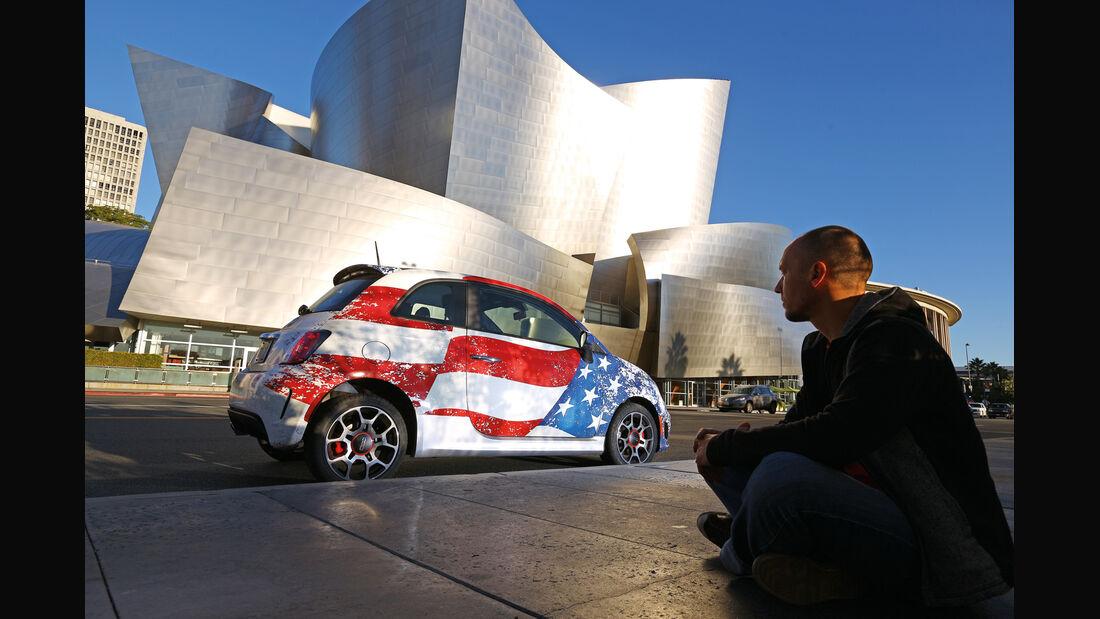 Fiat 500, Walt Disney Concert Hall