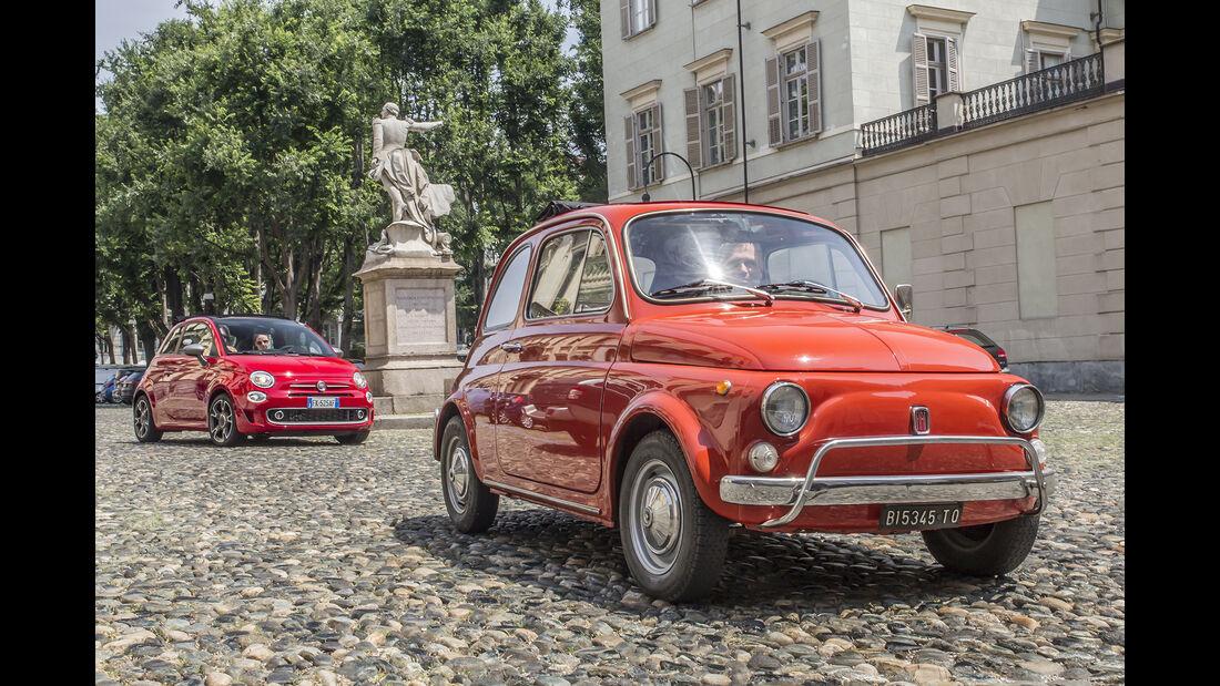 Fiat 500 neu und alt