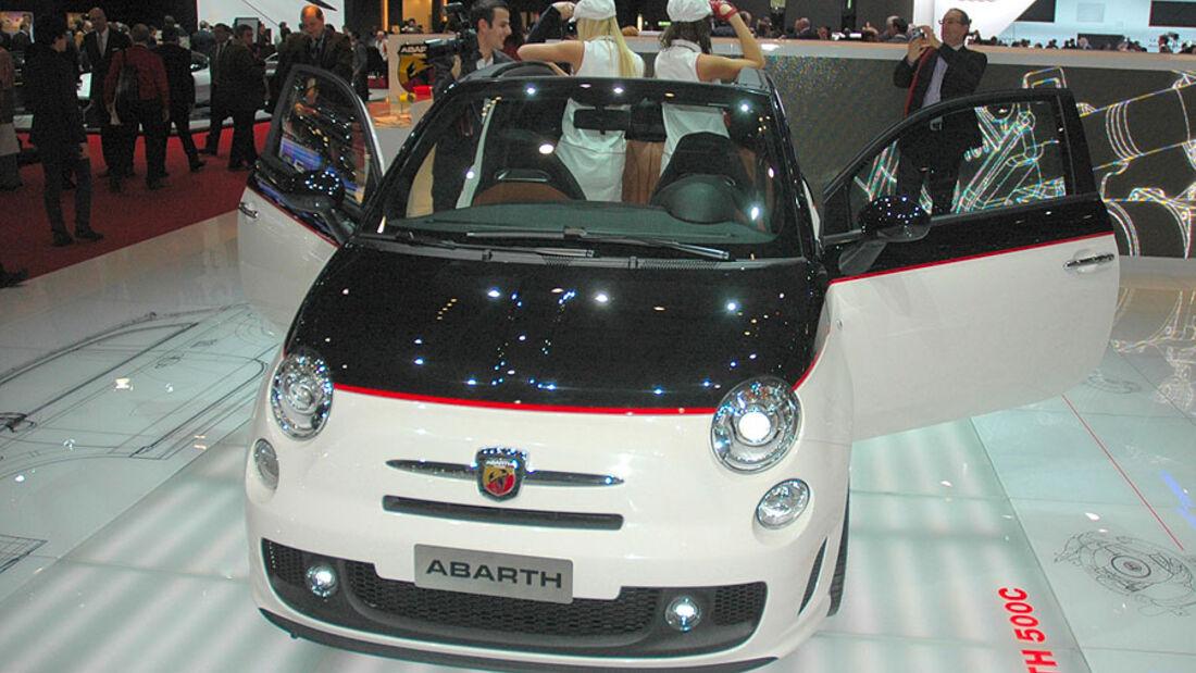 Fiat 500C Abarth, Genf2010