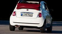Fiat 500C, Heckansicht
