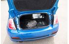 Fiat 500C, Kofferraum