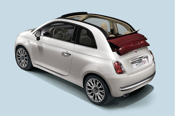 fiat 500 cabrio sonderserie zum marktstart des fiat 500c auto motor und sport. Black Bedroom Furniture Sets. Home Design Ideas