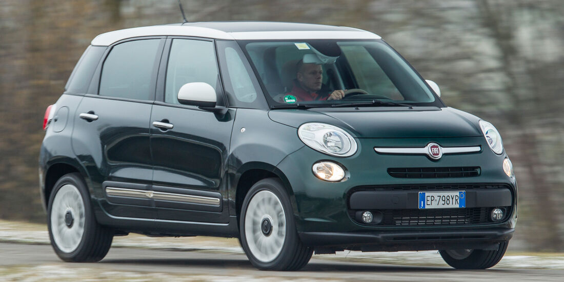 Fiat 500L 0.9 Twinair Lounge, Frontansicht