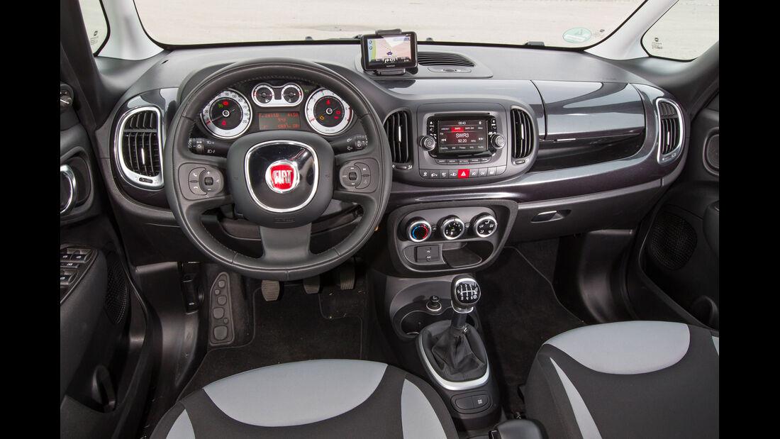 Fiat 500L 1.4 16V Pop, Cockpit