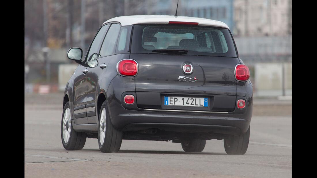 Fiat 500L 1.4 16V Pop, Heckansicht