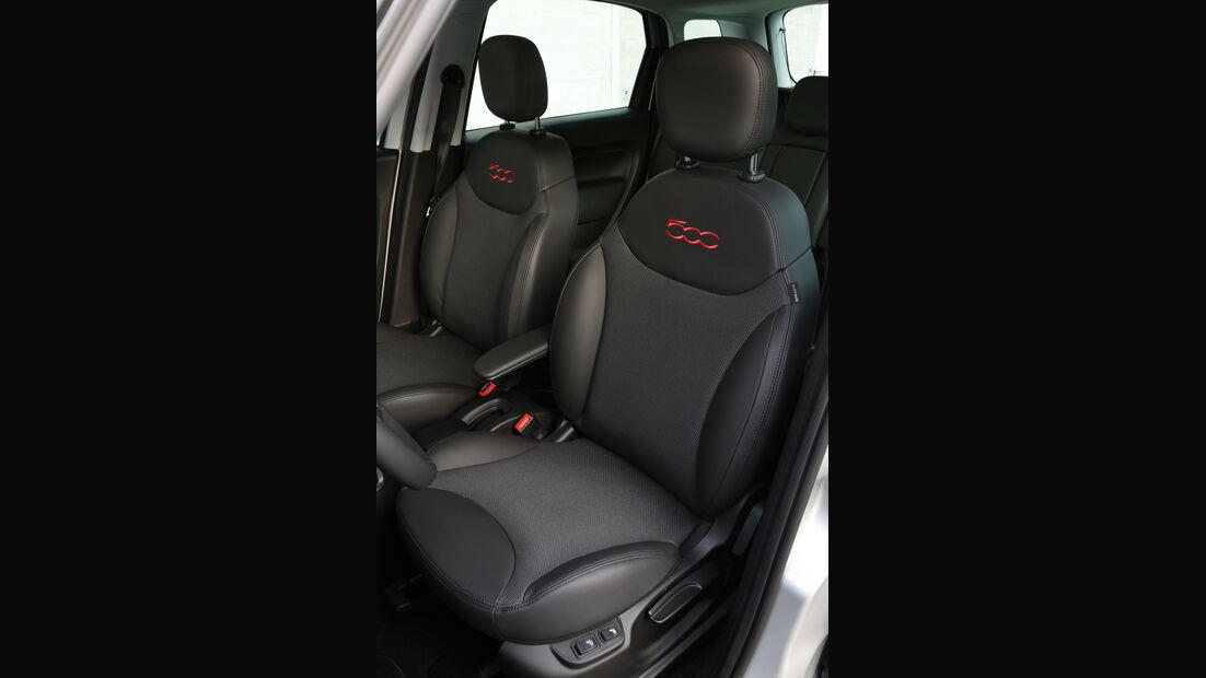 Fiat 500L 1.6 Multijet, Fahrersitz