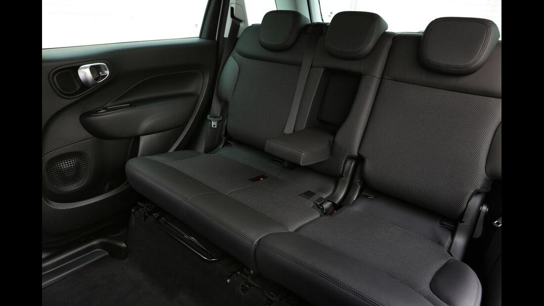 Fiat 500L 1.6 Multijet, Fondsitz, Beinfreiheit