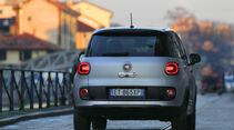 Fiat 500L 1.6 Multijet, Heckansicht