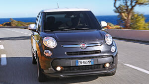 Fiat 500L, Frontansicht