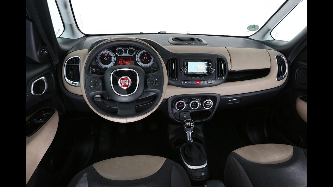Fiat 500L Living 1.6 16V Multijet, Cockpit