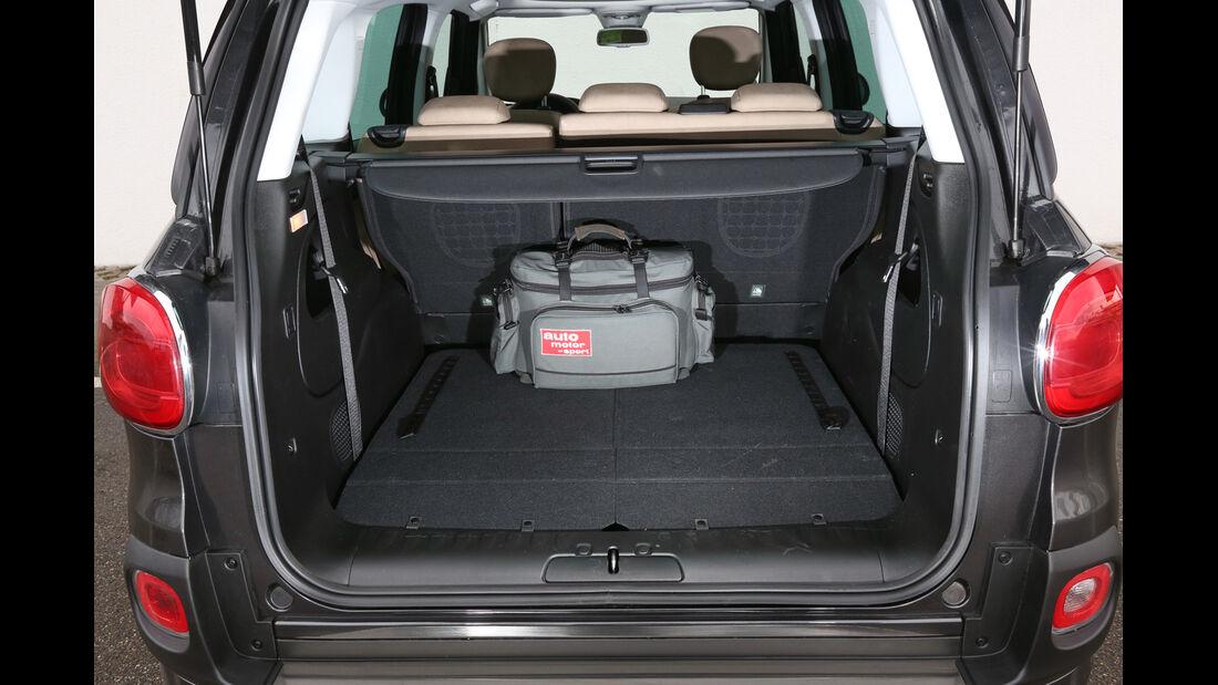 Fiat 500L Living 1.6 16V Multijet, Kofferraum