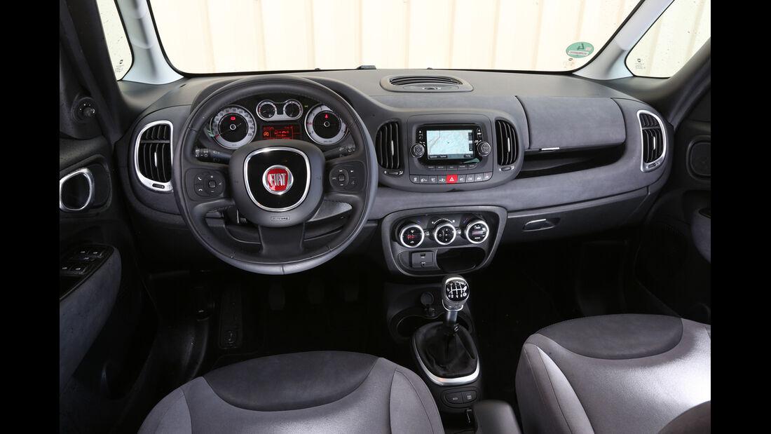 Fiat 500L Living, Cockpit