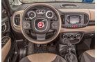 Fiat 500L Living, Cockpit, Lenkrad