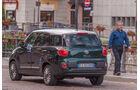 Fiat 500L Living, Heckansicht