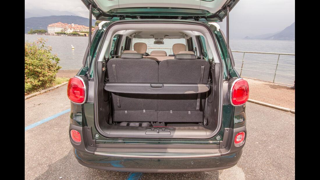 Fiat 500L Living, Kofferraum