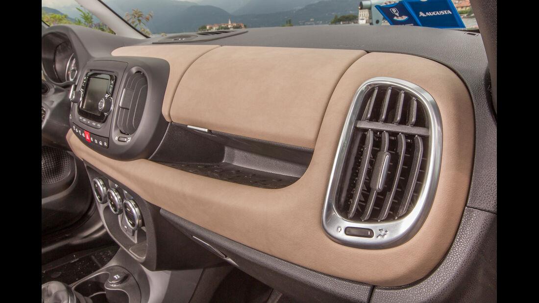 Fiat 500L Living, Luftausströmer