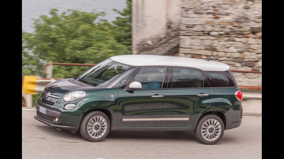 Fiat 500L Living, Seitenansicht