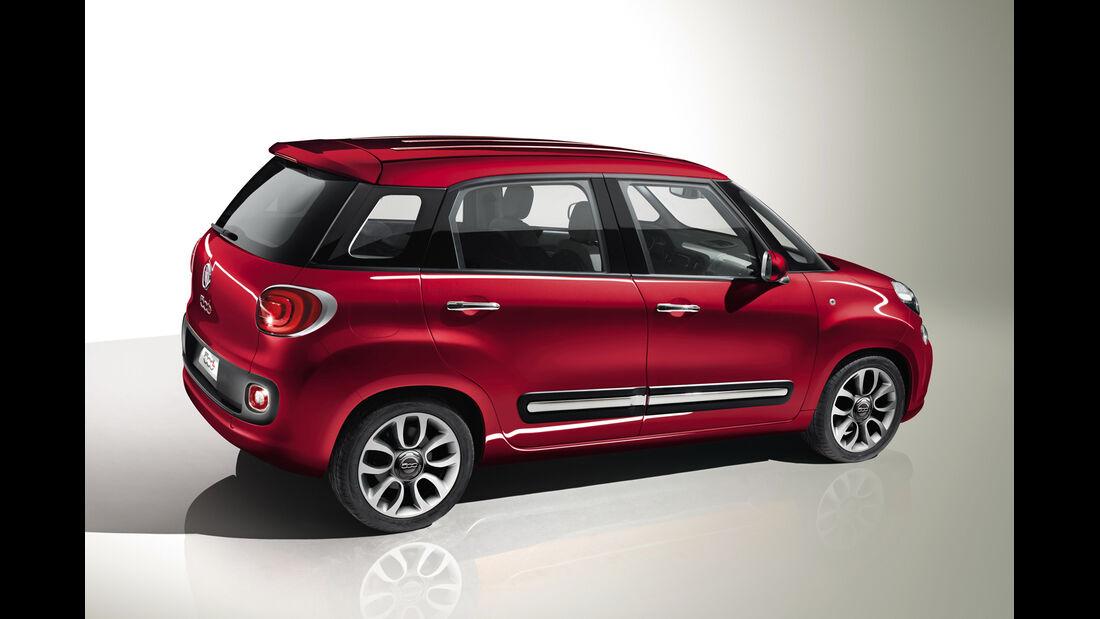 Fiat 500L, Seitenansicht