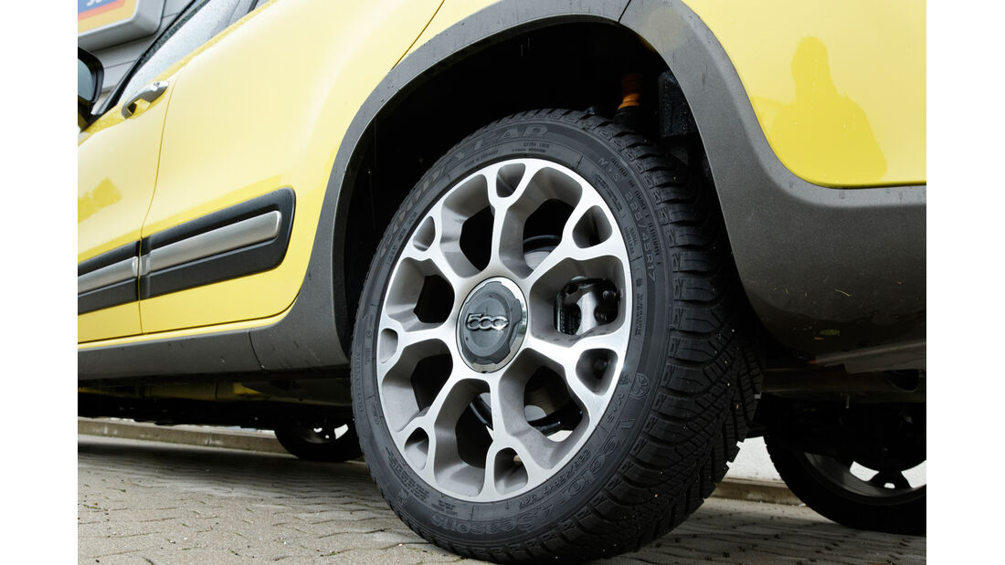 Fiat 500L Trekking 1.6 Multijet, Felge