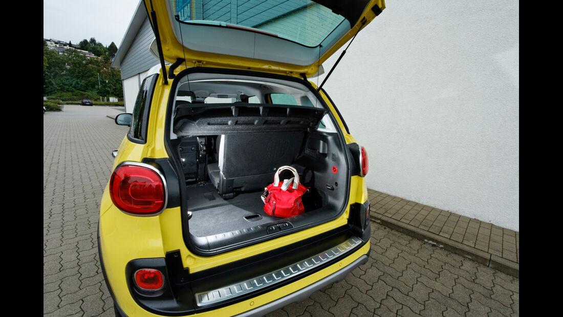Fiat 500L Trekking 1.6 Multijet, Kofferraum