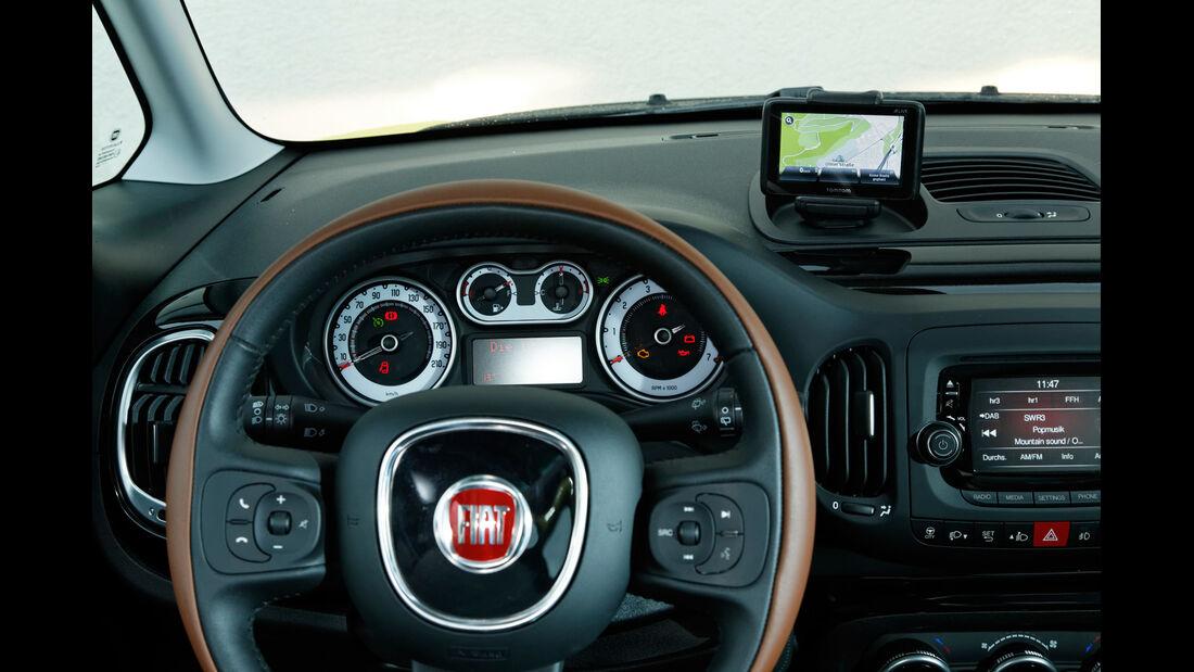 Fiat 500L Trekking 1.6 Multijet, Lenkrad