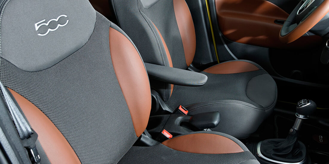 Fiat 500L Trekking 1.6 Multijet, Sitze