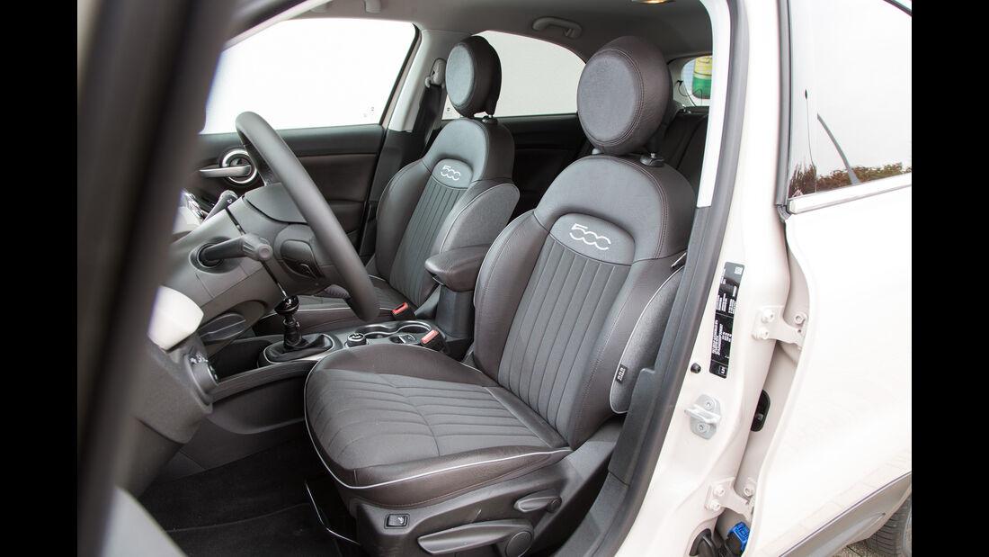 Fiat 500X 1.6 Multijet, Fahrersitz