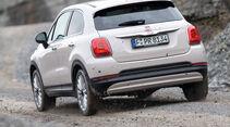 Fiat 500X 1.6 Multijet, Heckansicht