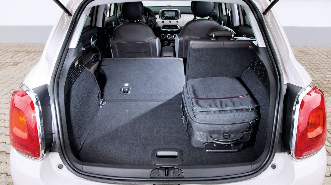 Fiat 500X 1.6 Multijet, Kofferraum