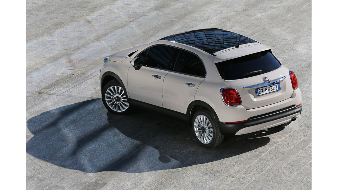 Fiat 500X 4x4 2.0 Multijet Cross Plus, Draufsicht