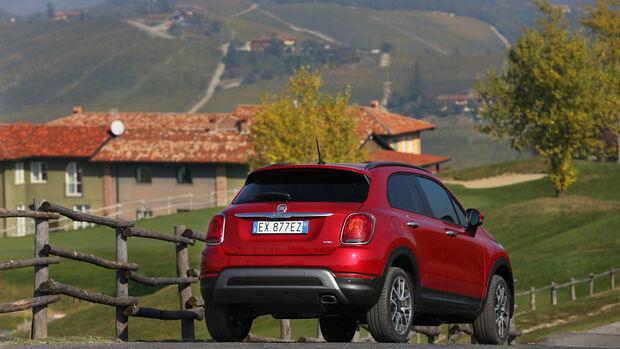 Fiat 500X 4x4 2.0 Multijet Cross Plus, Heckansicht