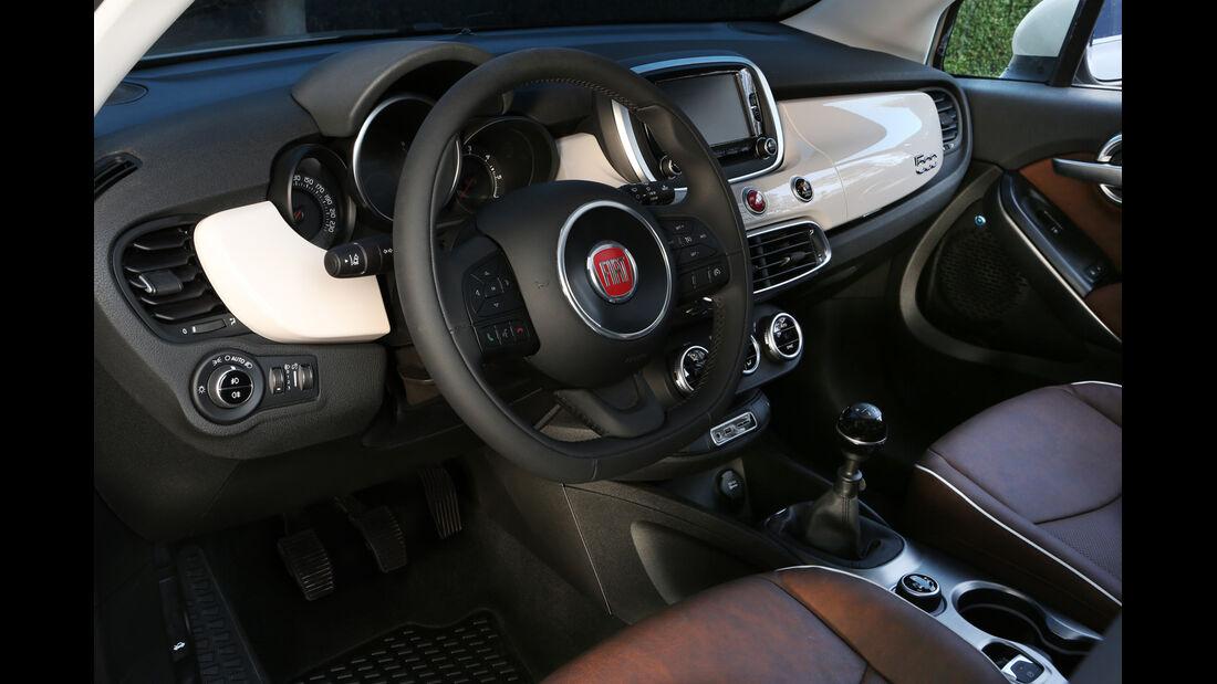 Fiat 500X 4x4 2.0 Multijet Cross Plus, Lenkrad