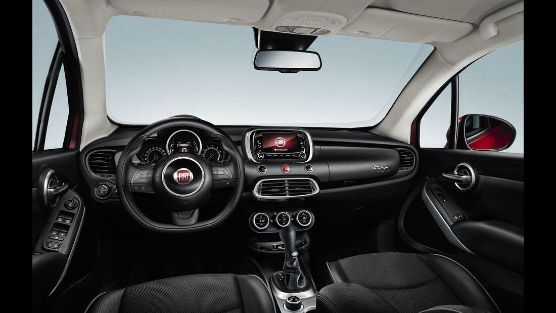 Fiat 500X Crossover - Pariser Autosalon - SUV