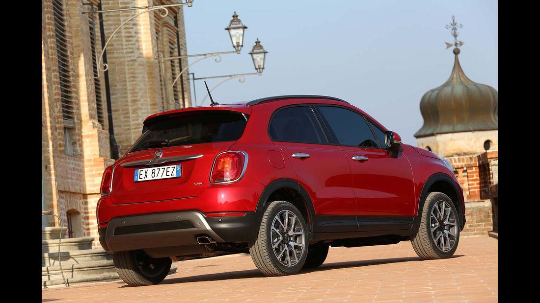 Fiat 500X Fahrbericht 4WF 11/15