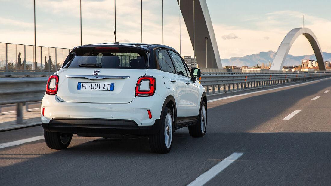 Fiat 500X Hey Google Sondermodell