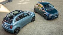 Fiat 500e Cabrio, Exterieur