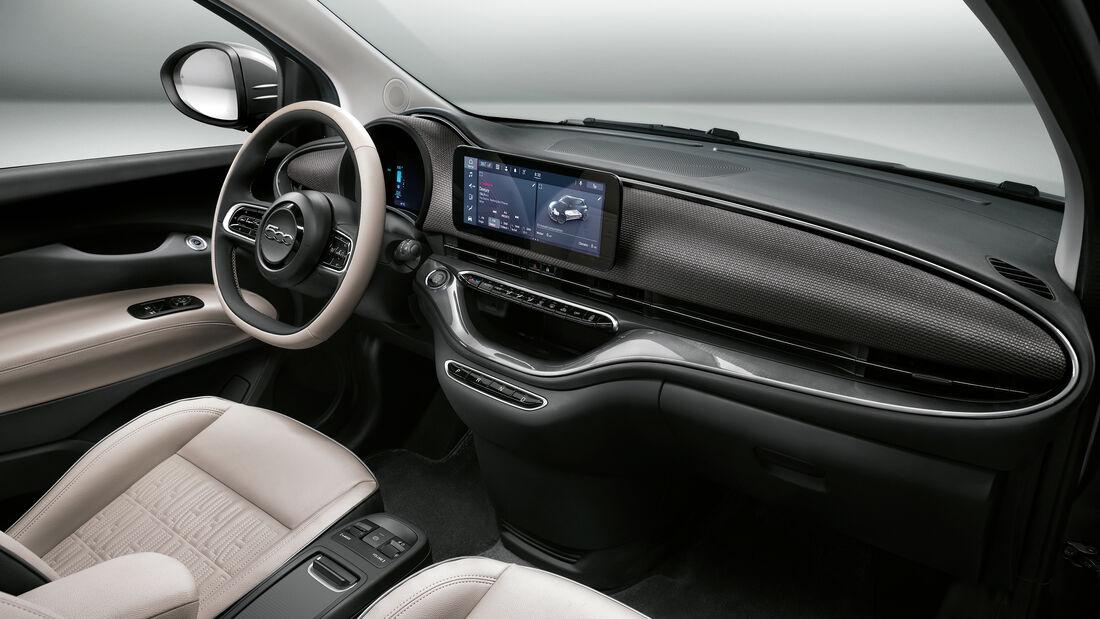 Fiat 500e, Interieur