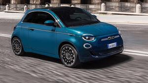 Fiat 500e Retusche dritte Türe