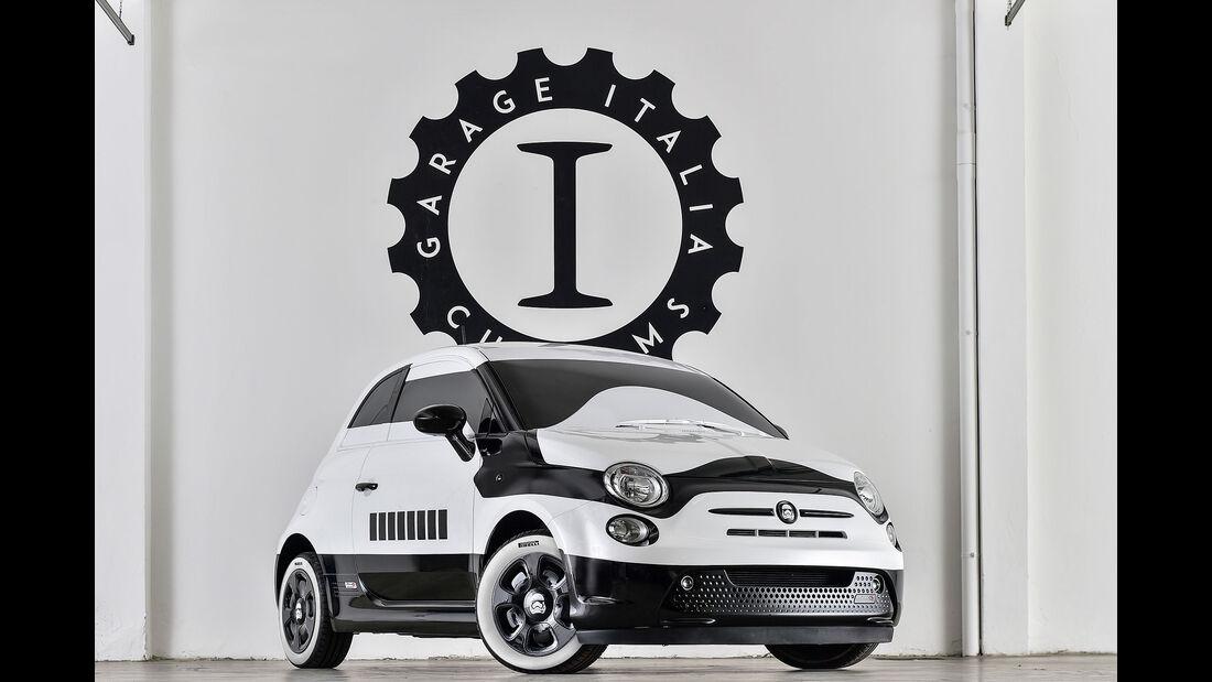 Fiat 500e Stormtrooper L.A. Autoshow