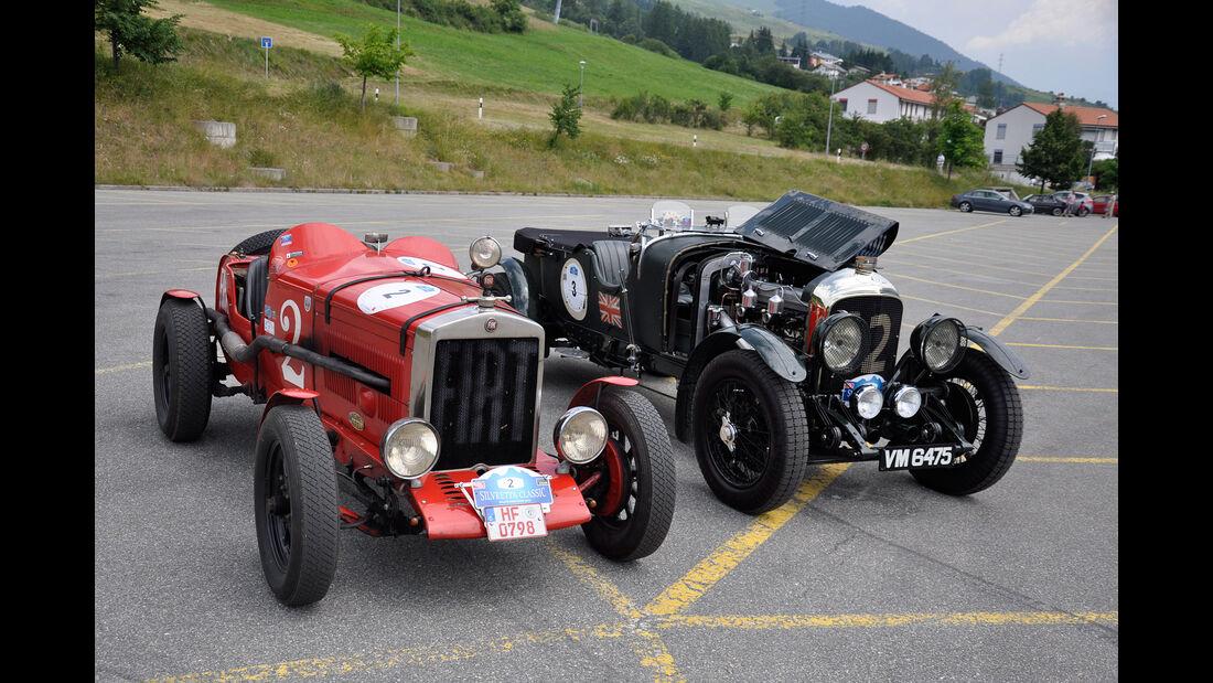 Fiat 520 Competizione und Bentley 4 1/2 Litre Open Tourer