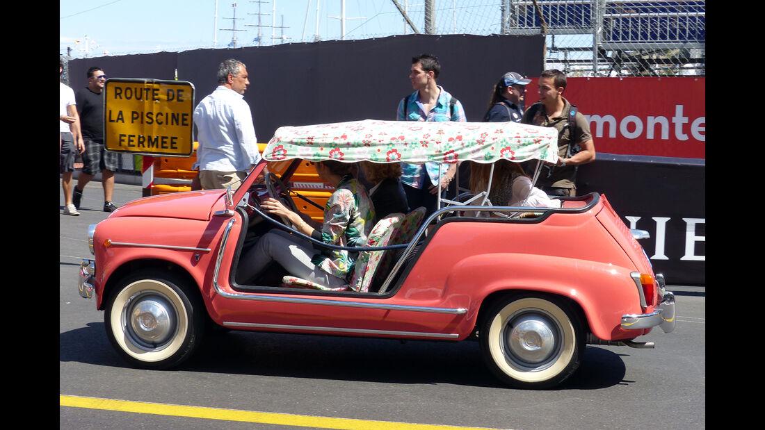 Fiat 600 -  Carspotting - Formel 1 - GP Monaco 2015