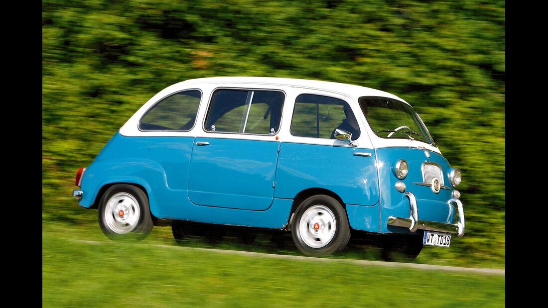 Fiat 600 Multipla, Seitenansicht