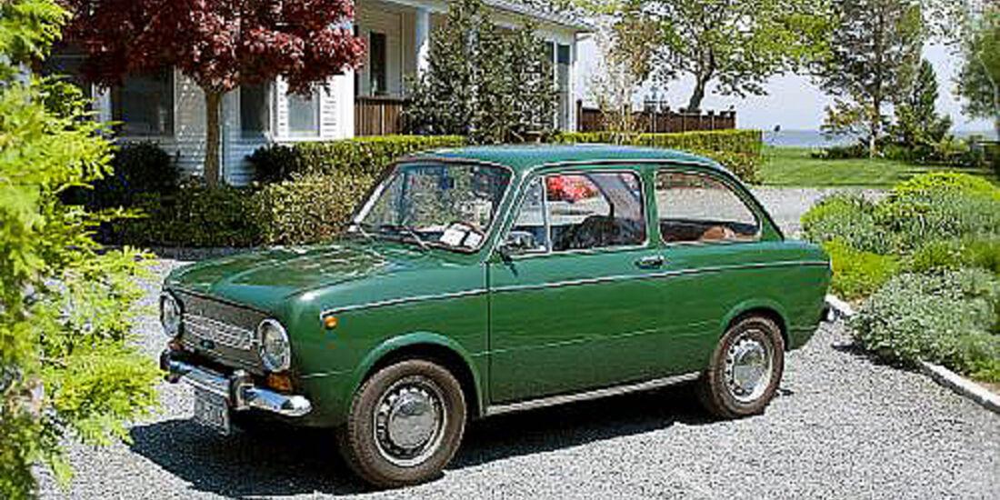 Fiat 850 Special 'Idroconvert' - Seitenansicht
