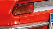 Fiat 850 Spider, Heckleuchte, Endrohr