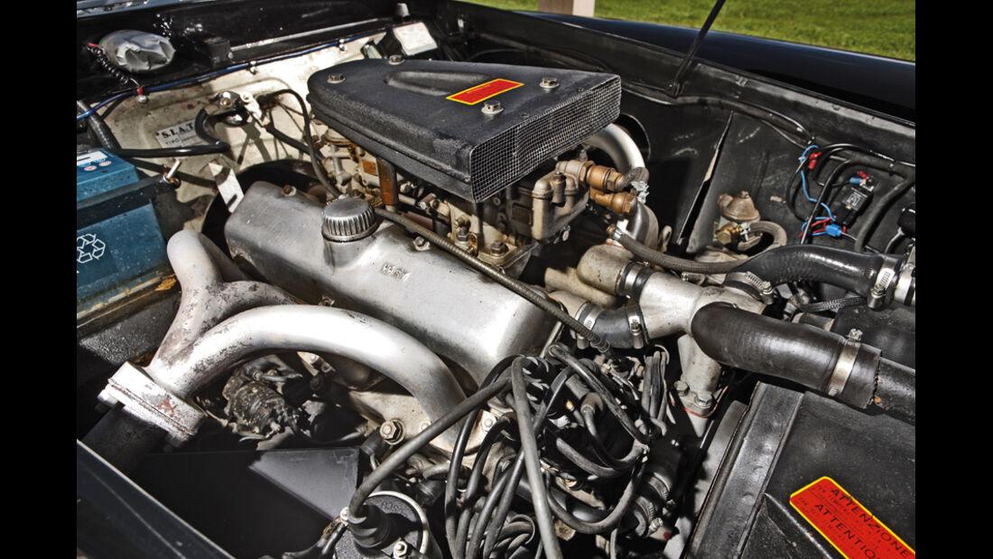Fiat 8V-Motor im Siata 208 S