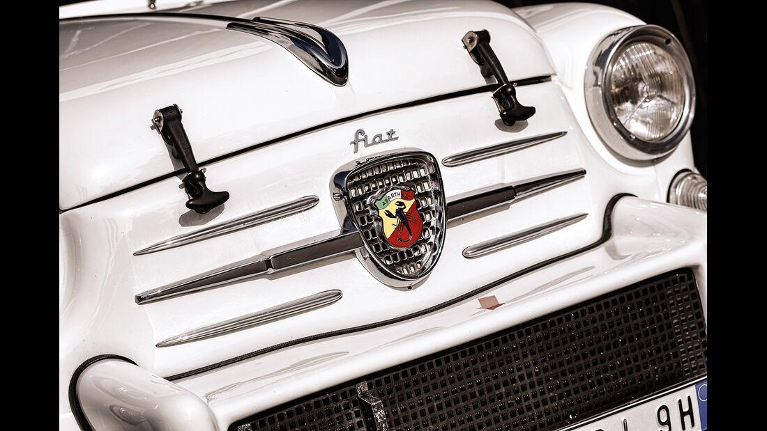 Fiat Abarth 1000 TC, Emblem, Typenbezeichnung