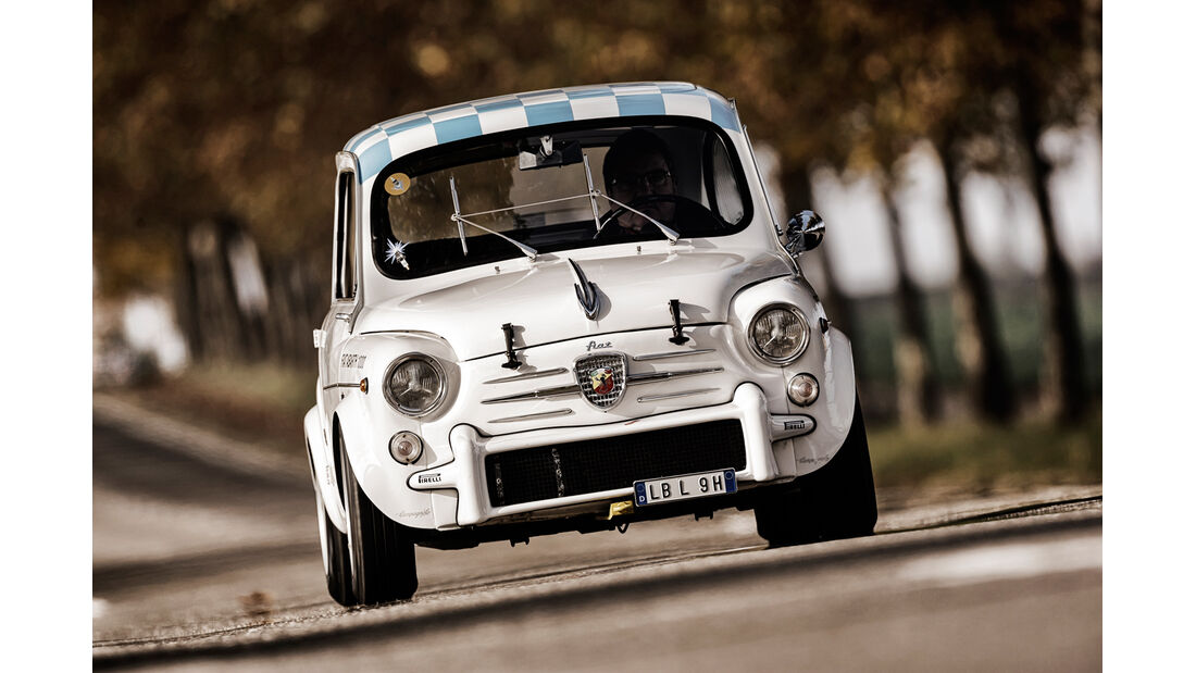 Fiat Abarth 1000 TC, Frontansicht