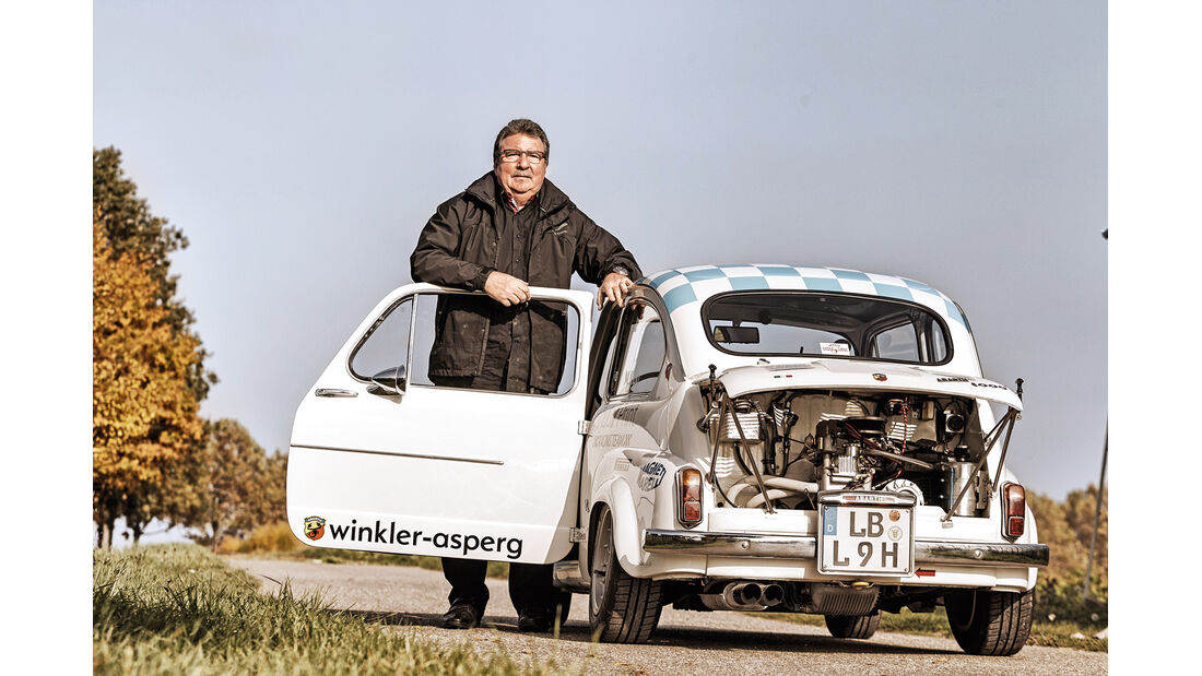 Fiat Abarth 1000 TC, Heckansicht, Michael Kipp