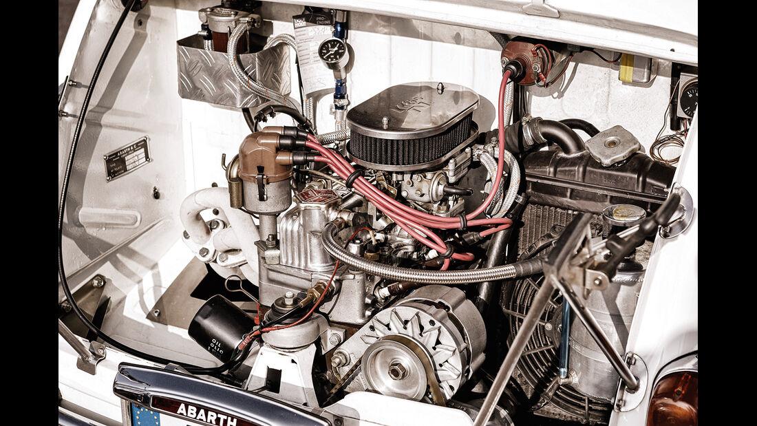 Fiat Abarth 1000 TC, Motor